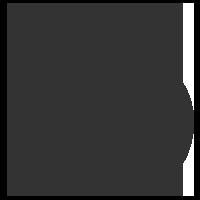 Om (Aum), a symbol in Hinduism.