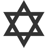 Star of David, the symbol of the Jewish faith.
